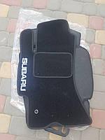 Текстильные ковры в салон Subaru Impreza (2002-2009) ворсовые