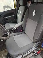 Чехлы в салон Renault Kangoo ZE Электромобиль (1+1) передние