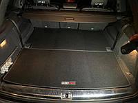 Текстильный ковер багажника Audi Q7 2014+ ворсовый (из 2-х частей)