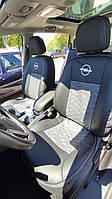 Чехлы в салон Opel Zafira С Tourer 2011-2016 (Экокожа)