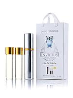 Міні-парфуми Invictus Paco Rabanne, чоловічий 3х15 мл