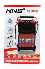 Радиоприемник NNS NS-1388 с микрофоном, фото 2