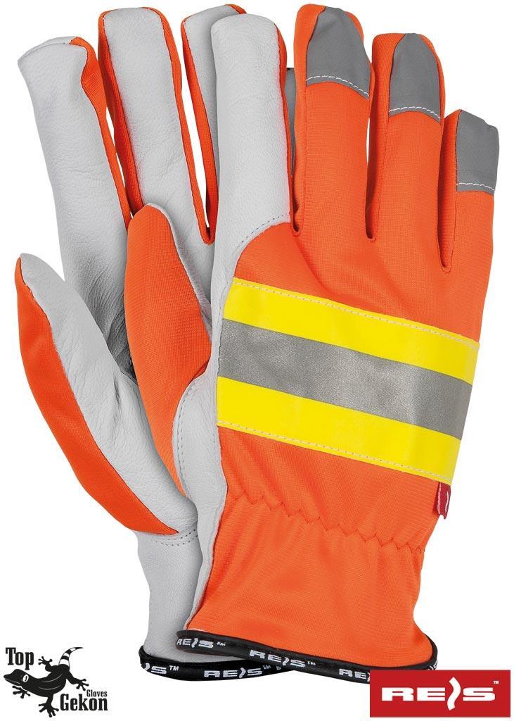 Перчатки рабочие кожаные REIS Польша RLTOPER-NEO PYSW