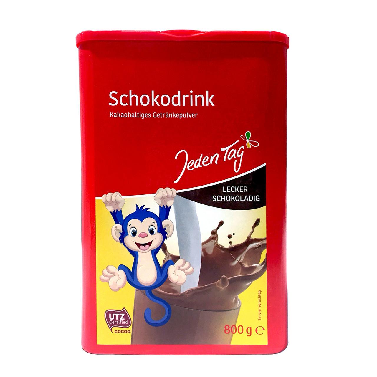 Шоколадний напій JEDEN TAG Kakao (пластик) 800 г 10 шт/ящ