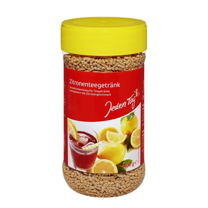 Чай JEDEN TAG Zitronentee зі смаком лимона 400 г 12 шт/ящ