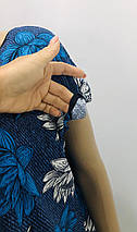 Туника трикотажная с двумя карманами, фото 3