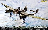 Сборная пластиковая модель Fw 189A-1 Uhu на лыжном шасси 1/48