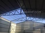 Зернохранилище 10х60 склад, ангар, цех, навес, фермы, крыша, здание, фото 6