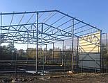 Зернохранилище 10х60 склад, ангар, цех, навес, фермы, крыша, здание, фото 7