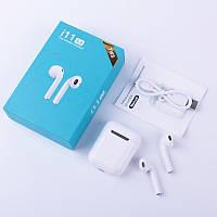 Беспроводные наушники Bluetooth i11 TWS сенсорные с зарядным кейсом, Наушники гарнитуры