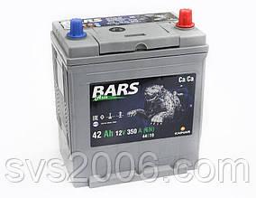 АКБ 6СТ-42 R+ (пт 350)(не обслугов)(азія) BARS
