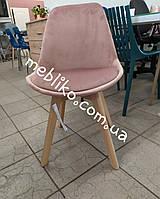 СТУЛ  NORDIC (НОРДИК) VELVET розовый ( Signal Dior), фото 1