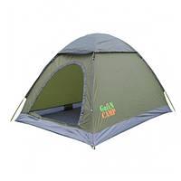 Палатка двухместная с тентом Green Camp 3005