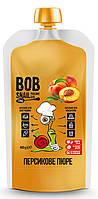 Натуральное фруктовое пюре Bob Snail Персик 400 г
