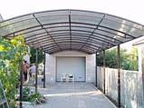Сотовый поликарбонат Polygal СТАНДАРТ  4 мм Бронза 2.1х6 и 2.1х12 метров, фото 10