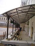 Сотовый поликарбонат Polygal СТАНДАРТ  4 мм Бронза 2.1х6 и 2.1х12 метров, фото 6