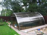 Сотовый поликарбонат Polygal СТАНДАРТ  4 мм Бронза 2.1х6 и 2.1х12 метров, фото 8