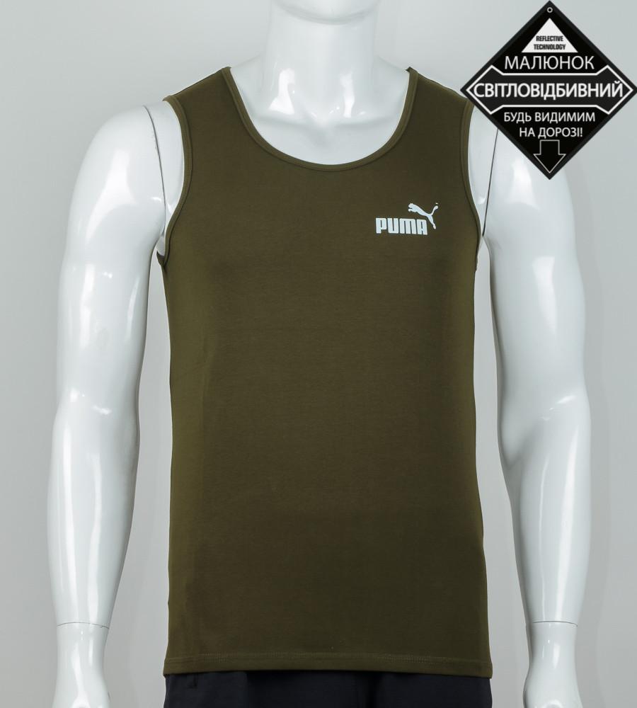 Майка мужская Puma (2071мм), Хаки