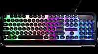 Игровая проводная USB клавиатура для компьютера с подсветкой клавиш M300 Геймерская Keyboard Led
