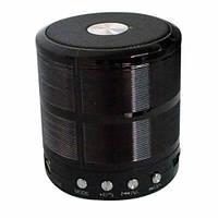 Портативная bluetooth колонка MP3 WS-887 Black