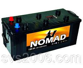 АКБ 6СТ-190 Тип3 (плоский конус)(пт 1250)(євро) NOMAD