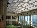 Сотовый поликарбонат Polygal СТАНДАРТ  6 мм Прозрачный 2.1х6 и 2.1х12 метров, фото 5