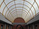 Сотовый поликарбонат Polygal СТАНДАРТ  6 мм Прозрачный 2.1х6 и 2.1х12 метров, фото 6