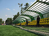 Сотовый поликарбонат Polygal СТАНДАРТ  6 мм Прозрачный 2.1х6 и 2.1х12 метров, фото 8