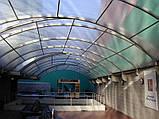 Сотовый поликарбонат Polygal СТАНДАРТ  6 мм Прозрачный 2.1х6 и 2.1х12 метров, фото 10