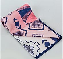Быстросохнущее полотенце для спорта и йоги 75х186 см Розовое
