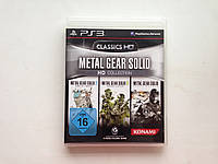 Видео игра Metal Gear solid HD collection (PS3)