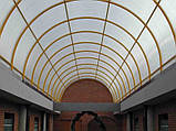 Сотовый поликарбонат Polygal СТАНДАРТ  8 мм Прозрачный 2.1х6 и 2.1х12 метров, фото 6