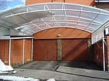 Сотовый поликарбонат Polygal СТАНДАРТ  8 мм Прозрачный 2.1х6 и 2.1х12 метров, фото 7