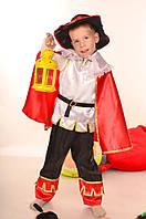 Детский карнавальный костюм Кота в сапогах