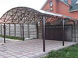 Сотовый поликарбонат Polygal СТАНДАРТ  8  мм Бронза 2.1х6 и 2.1х12 метров, фото 3