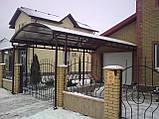 Сотовый поликарбонат Polygal СТАНДАРТ  8  мм Бронза 2.1х6 и 2.1х12 метров, фото 9