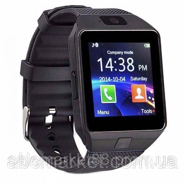 Смарт Часы Smart watch DZ09 Black