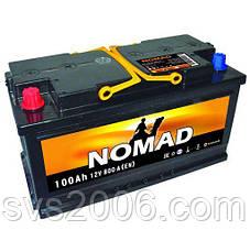 АКБ 6СТ-100 R+ (пт 800)(не обслугов)(азія) NOMAD