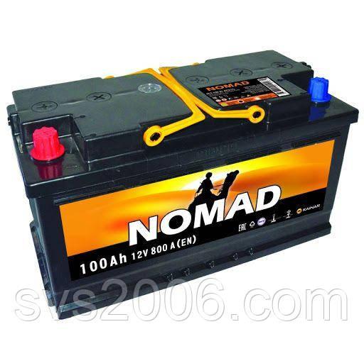 АКБ 6СТ-100 R+ (пт 780) NOMAD