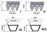 Ремень 3L-450, для стиральной машины, фото 4