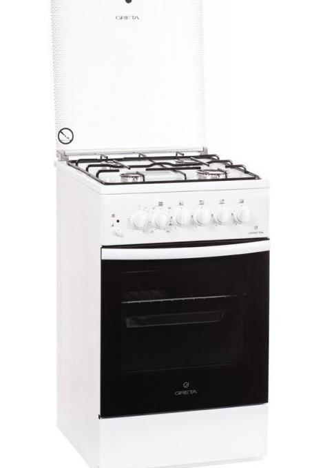 Газоелектрична плита GRETA 1470-09 ГЕ + скл. кр.