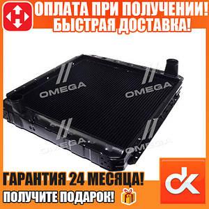 Радиатор водяного охлаждения КАМАЗ 5320 (3-х рядный) медный  (арт. 5320-1301010-С)