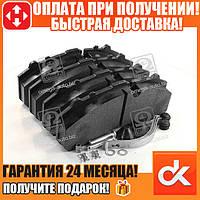 Колодка тормозная дисковая (комплект на ось) BPW, ДАФ XF95, ИВЕКО, МЕРСЕДЕС (MB) ACTROS, САФ, СКАНИЯ  (арт. DK 29108PRO)