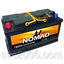 АКБ 6СТ-100 L+ (пт 800)(не обслугов) (азія) NOMAD