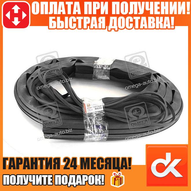 Уплотнитель  стекла лобового ЮМЗ (1шт=3,81м)   (арт. 45Т-6700011)