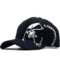 Кепка China Череп Skull черная 11.16