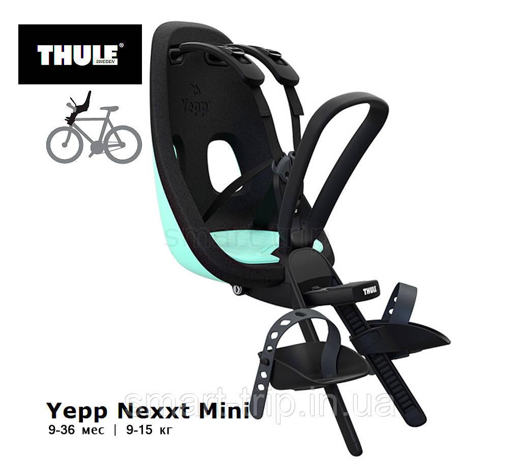 Детское велокресло Thule Yepp Nexxt Mini 9-15 кг Mint Green (ментоловый) 12080115