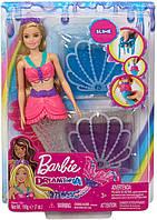 Кукла Барби Дримтопия Невероятные цвета Русалочка со слаймом Barbie Dreamtopia Slime Mermaid GKT75, фото 1