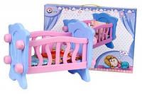 Кроватка для куклы с постелью Технок 4166, фото 1