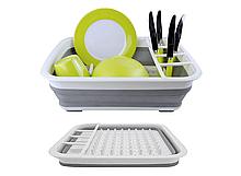 Складная универсальная сушилка для посуды и продуктов